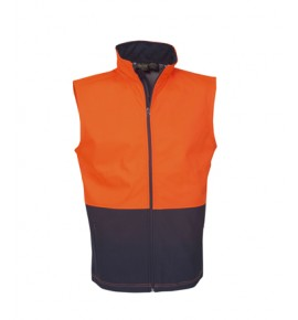Hi Vis Soft Shell Vest / Day Use
