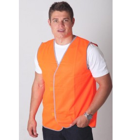 Budget Hi-Viz Adults Nylon Day Vest