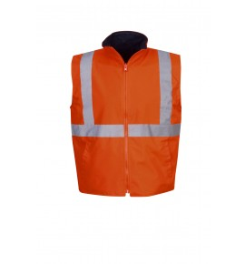 Hi Vis Reversible Vest - Day / Night Use