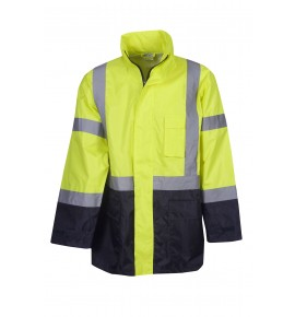 Hi Vis Rain Jacket - Day / Night Use