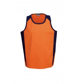 Hi Vis Cooldry Side Panel Singlet