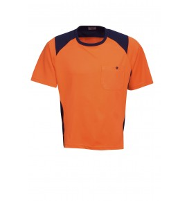 Hi Vis Cooldry Side Panel T-Shirt